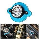 Godyluck- 0,9 Bar Coperchio del Tappo del radiatore termostatico con indicatore di Temperatura della Temperatura dell'Acqua per Il rimorchio del Carrello elevatore del Camion