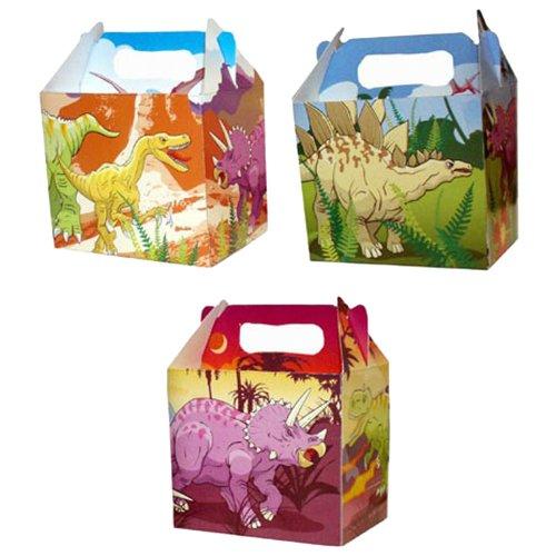 6 boites à repas / Lunch Boxes Dinosaures Prehistoriques