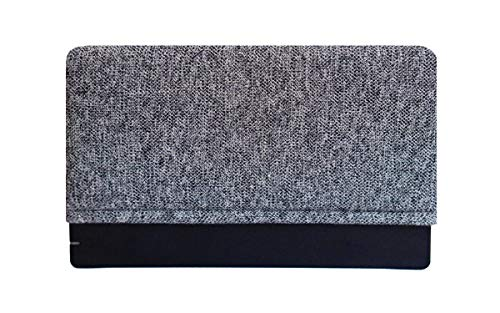 Gray Knit - Padded Dock Sock Cover Made for Nintendo Switch