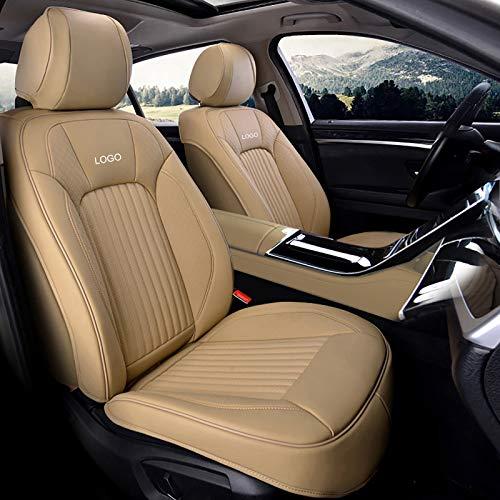 Whitejianpeak Compatible con Cojines de Asiento de automóvil Mercedes-Benz CLS-Class, Fundas de Asiento Interior de automóvil con Todo Incluido, con Logotipo Bordado