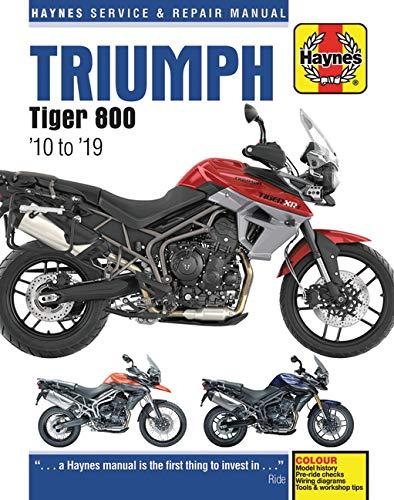 Coombs, M: Triumph Tiger 800 (10 -19) (Haynes Service & Repair Manuals)