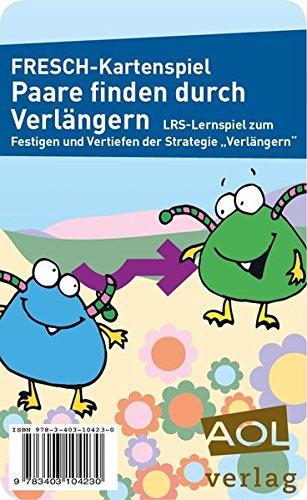 FRESCH-Kartenspiel: Paare finden durch Verlängern: LRS-Lernspiel zum Festigen und Vertiefen der Strategie Verlängern (1. bis 4. Klasse) (Fit trotz LRS - Grundschule)