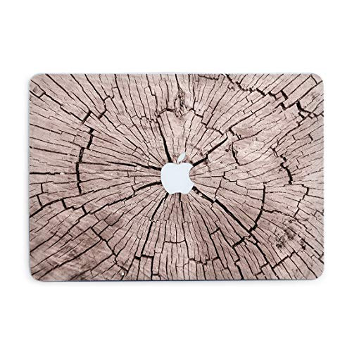 Old Wood Oak Art Hard Cover for Air 13 2018 A1932 Laptop Plastic Case Printed Case with Design