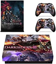 Darksiders 3 Full Faceplates Skin Console & Controller Decal Stickers for Xbox One X Console + Controller Skin by Mr Wonderful Skin