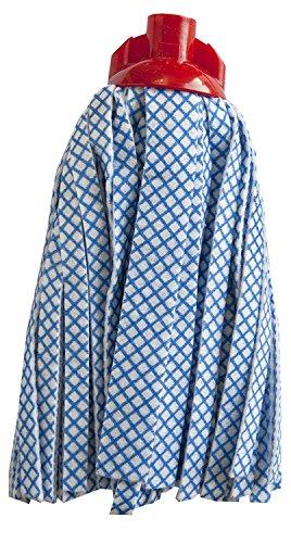 Parodi et Parodi Easy Mop Balai de Nettoyage sols, Viscose/Polyester, Blanc, 30 x 15 x 7 cm