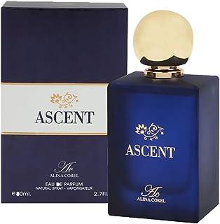 Ascent By Alina Corel For Unisex - Eau DE Parfum, 80ml