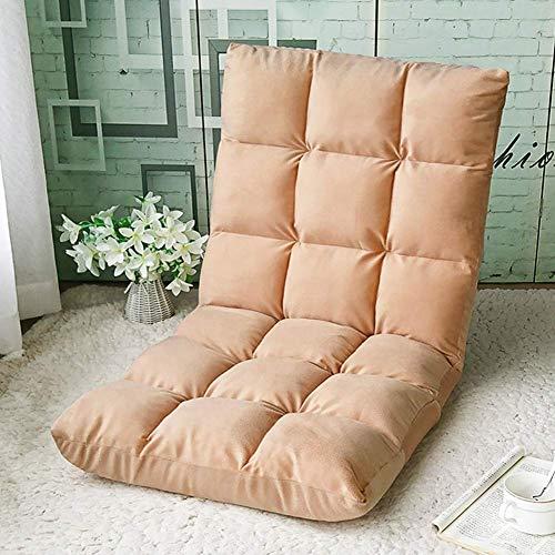 Silla de juego DKEE Wee silla perezosa silla suelo sofá plegable sofá cama del Ministerio del Interior de la siesta dormitorio balcón del dormitorio de los juegos de ordenador Recreación Silla de saló