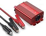 BESTEK Inverter Onda Pura 300w/ Inverter 12v a 220v da Auto per Camper con 2 Porte USB 4,2...