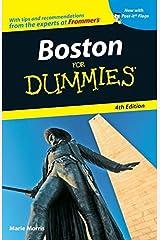 Boston For Dummies Paperback