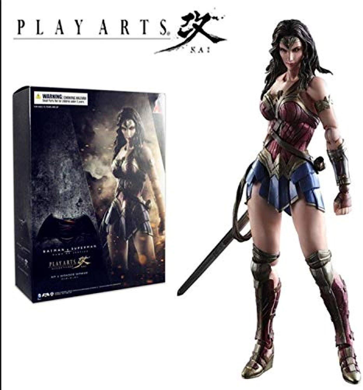 Wen Zhe Batman V súperman súperman súperman Wonder Woman Jugar Art Kaitu Variante de Dibujo a Escala 1 6 muñeca Anime PVC Figura de acción de colección de Juguetes Modelo Modelo de Juego  a la venta