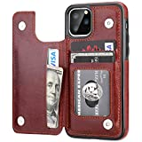 iPhone 11 Pro Wallet Case with Card Holder,OT ONETOP PU Leather...