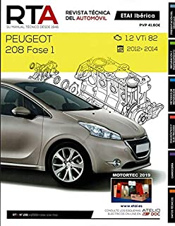 HERRAMIENTA FORJADA Manual DE Taller Peugeot 208 Fase 1-1.2 VTi de 82cv 2012-14 R281+Chaleco Reflectante