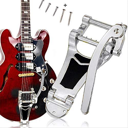 YUSDP Gitarren-Vibrato-Saitenhalter-Tremolo, hochwertiges Metallmaterial, Silent-Pad-Design - Mit kostenlosem Schraubenzubehör - für Tele-, SG-, LP- und E-Gitarren