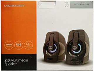 MUltiMedia Speakers from MicroDigit RGB LIGHT