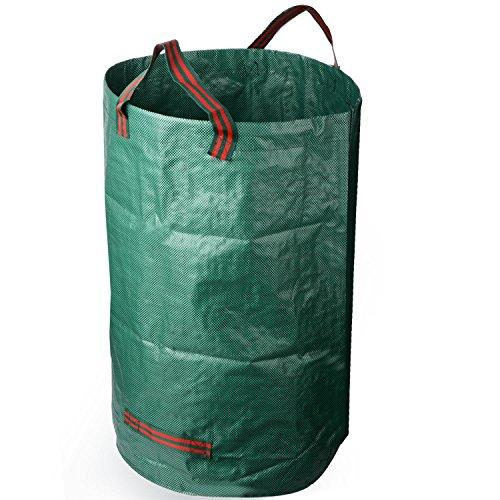 lulalula Sac à déchets de jardin, sacs de jardinage, sacs de jardinage pliables et réutilisables – 32 gallons