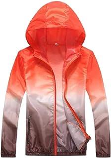 Tortor 1Bacha Kid Boys Color Block Hooded Windbreaker UV Sun Protection Jacket
