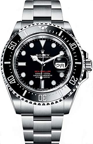Rolex Oyster Perpetual Sea-Dweller 43 mm Ceramic Bezel Stainless Steel Mens Watch 126600BKSO