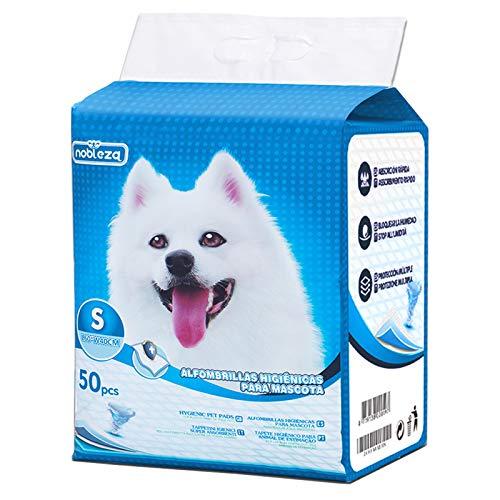 Nobleza-50 xUltrasaugfähigeHunde TrainingsunterlagenWelpenunterlage Welpen Toilettenmatte,40 * 60cm,Packungmit50Stück