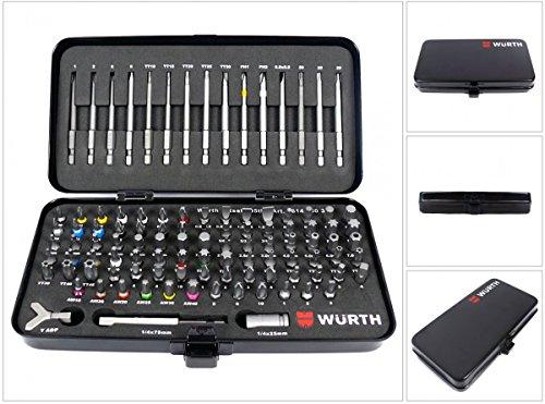 Würth 0614250300 Bitsortiment 105-teilig