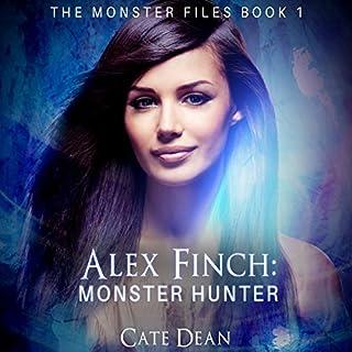 Alex Finch: Monster Hunter audiobook cover art