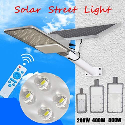 LAMP-XUE 200 W 400 W 800 W solar-straatverlichting buitenlamp schijnwerper met afstandsbediening waterdicht IP65 hoge helderheid veiligheidslamp voor auto-parkeerplaats, Pathway, weg