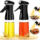 Oil Sprayer for Cooking 2Pack Set Refillable Olive...