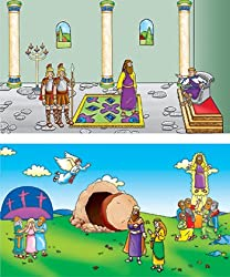 Beginners Bible Easter Story Flannelboard Figures