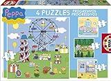 Educa-Borrás 15623 - Peppa Pig puzzles progresivos: 6-9-12-16 piezas