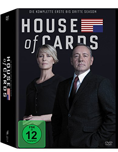 House of Cards - Staffel 1 bis 3 [Limited Edition] [12 DVDs]