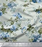 Soimoi mit Blumenmustern 44 Zoll breit Dekorative 20 GSM