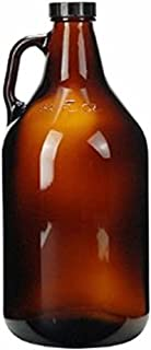 Strange Brew 32 oz (1 quart) Growler, Brown (Pack of 12)