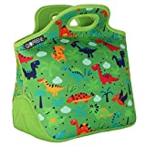 GOPRENE Lunch Bag for Boys, Fits A Kids Lunch Box, Insulated Neoprene Bag, Green Dinosaur, Bento Box and Thermos Fit Easily, Keeps Food Cold 4 Hours, Perfect for Your Son, Child, or Toddler at School bento box for kids Dec, 2020
