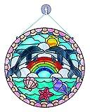 Melissa & Doug Glasmalerei leicht gemacht - Delfin -