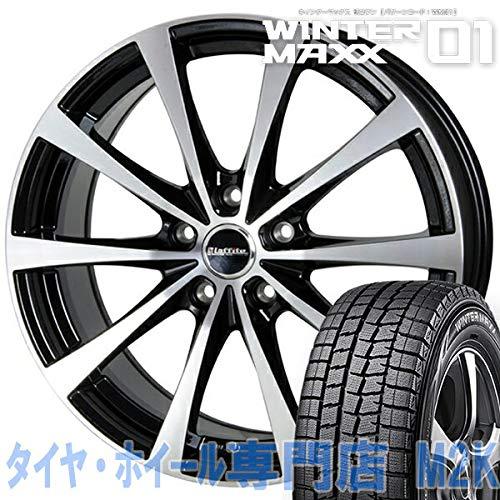 ダンロップ WM01 スタッドレスタイヤ 4本 ホイール ウィンターマックス LE-03 16インチ 6J+42 5-100 205/55...