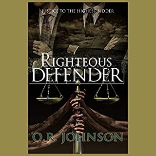 Righteous Defender audiobook cover art