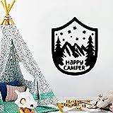 Shield Camper extraíble arte vinilo pegatinas de pared...