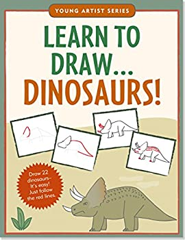 Learn To Draw Dinosaurs!  Easy Step-by-Step Drawing Guide   Young Artist Series