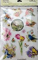 Marjolein Bastin Nature 's Sketchbook Layered紙ステッカー