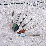 Herramientas de pedicura de 6 piezas, brocas de uñas seguras y resistentes al desgaste, para la familia de taladros de uñas(Set 11)