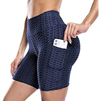 Msicyness Women's TikTok Shorts with Side Pockets (various sizes/colors)