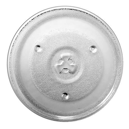 Saffire 10 1/2' - 27 cm Glass Microwave Plate – Replaces P23 for Emerson Hamilton Beach