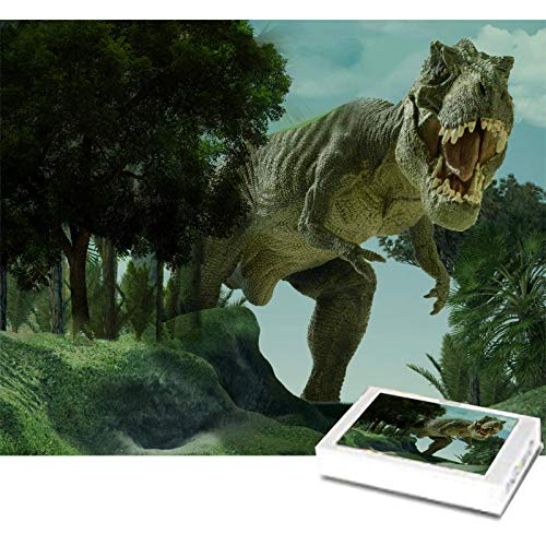 Puzzles for Adults 1000 Piece - Dinosaur Puzzles - Wooden Puzzles for Adults - Puzzle Game - Education Game - Parent Child Game 75cmX50cm(29.5inX19.7in)