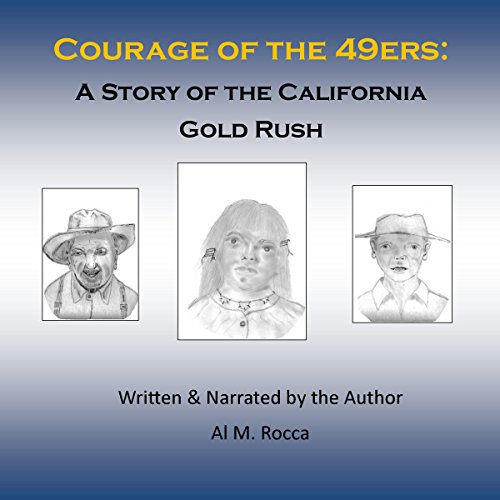 Courage of the 49ers audiobook cover art