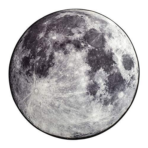 JiADT Tapijt 200 cm * 200 cm Nieuwe ideeën voor de maan cirkel tapijt, de tapijten voor de slaapkamer woonkamer studeerkamer, nylon keuken badmat.