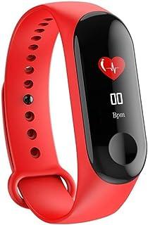 Lhlbgdz Tasa de Smart Band Pulsera de la Salud del corazón/Sangre/Presión/Monitor de frecuencia Cardiaca/podómetro Pulsera de los Deportes Hombres Mujeres Inteligentes Band