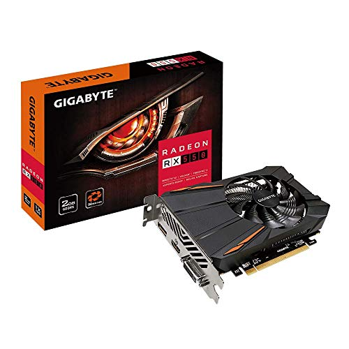 Gigabyte Radeon Rx 550 D5 2GB Graphic Cards GV-RX550D5-2GD REV2.0