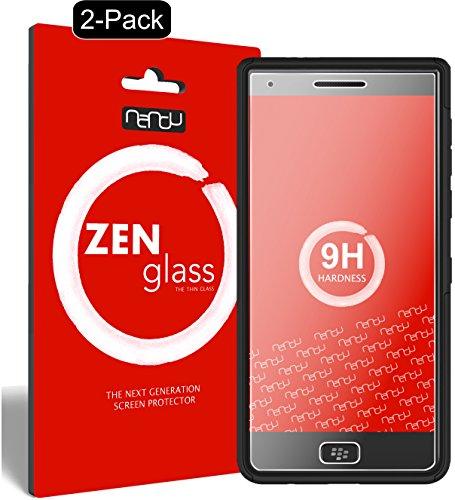 ZenGlass [2 Stück Flexible Glas-Folie kompatibel mit BlackBerry Motion Panzerfolie I Bildschirm-Schutzfolie 9H I (Kleiner Als Das Gewölbte Bildschirm)