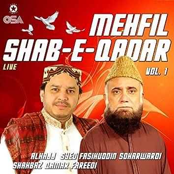 Mehfil Shab-e-Qadar, Vol. 1 (Live)
