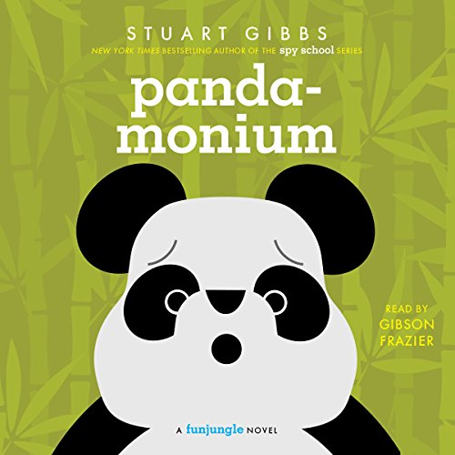 Panda-monium audiobook cover art