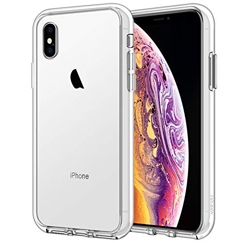 JETech Case for iPhone Xs and iPhone X, Shock-Absorption Bumper Cover (HD Clear)